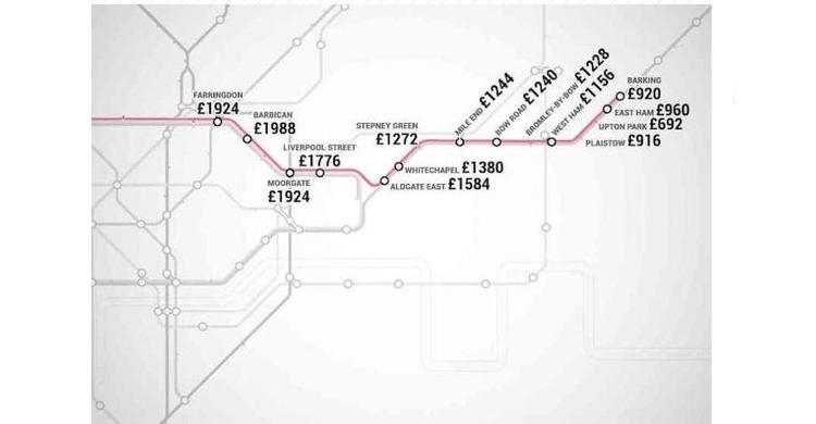 metro Londres / Hammersmith & city Line (www.shortlist.com)