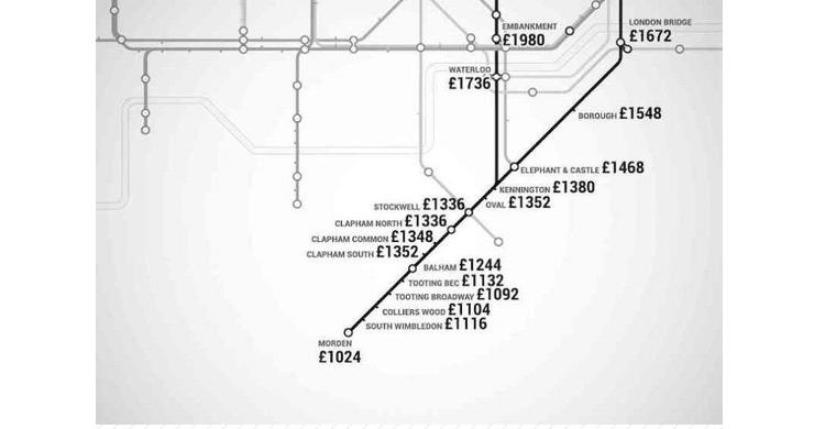 metro Londres / Northern Line (www.shortlist.com)
