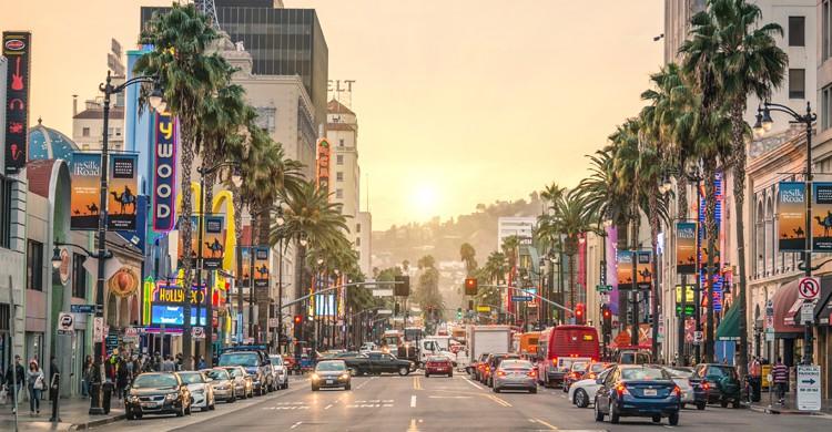 Los Ángeles es la residencia oficial de la industria del cine (iStock)