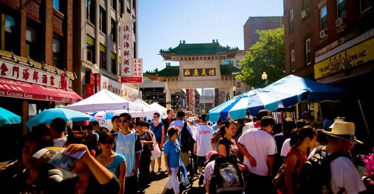 Mercado turístico en Boston (Flickr)