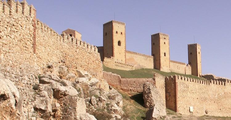 Castillo de Molina de Aragón, en la provincia de Guadalajara. Alvizio (Flickr)