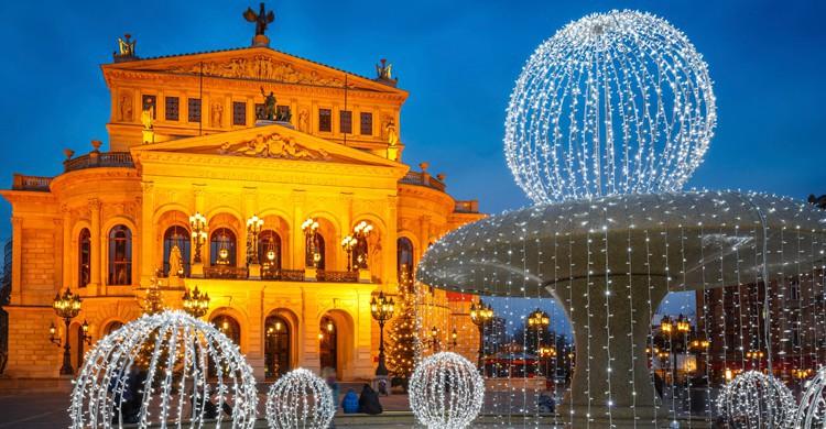 Antigua Ópera de Frankfurt (iStock)