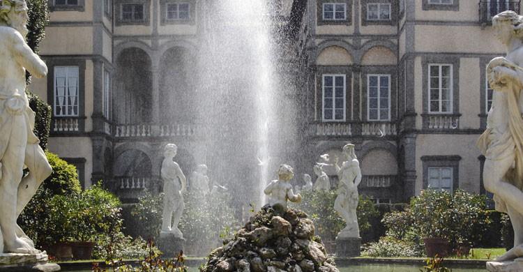 Jardines de Pfanner en Lucca, Italia (Flickr)
