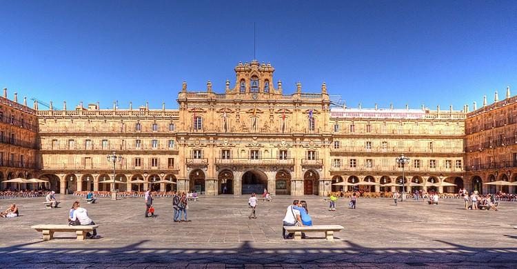 Plaza Mayor de Salamanca. Paulo Guerra (Flickr)
