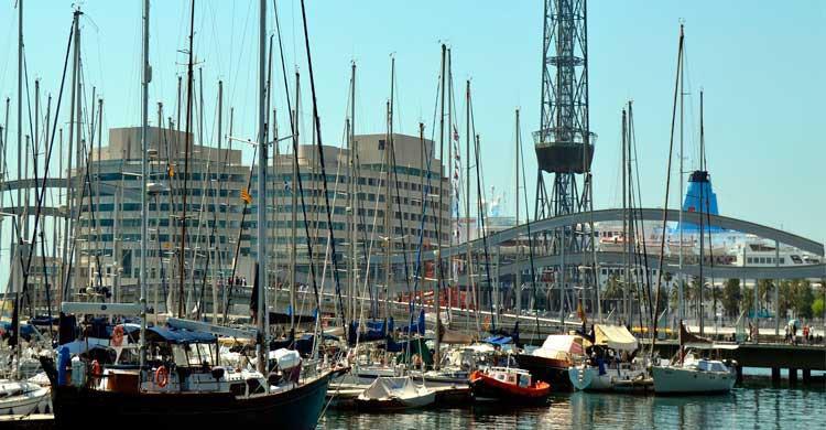 Puerto de Barcelona (Flickr)