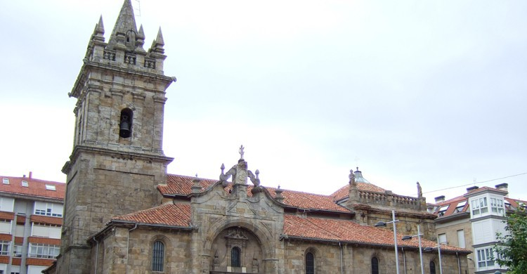 Iglesia de San Sebastián en Reinosa, Cantabria (Wikimedia.org)