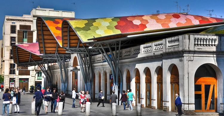 Mercado de Santa Caterina. Nicolás Lope de Barrios (Flickr)