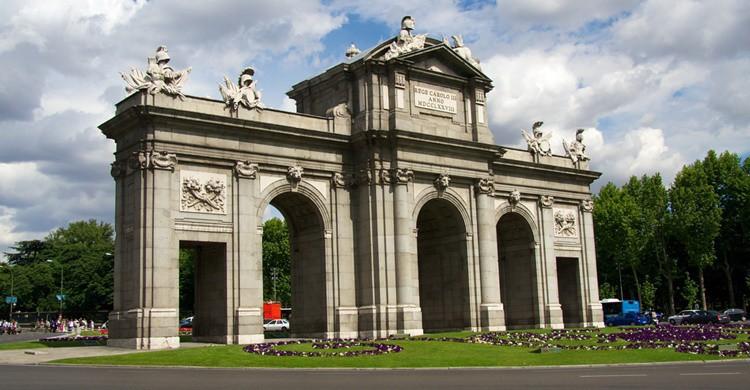 Puerta de Alcalá de Madrid. Mario Sánchez Prada (Flickr)