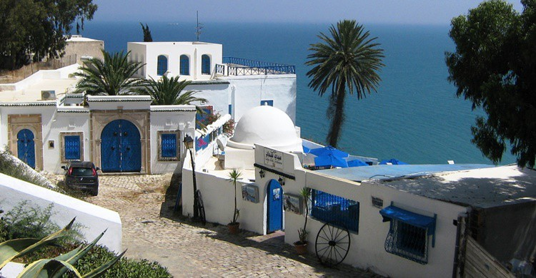 Sidi Bou Said. SarahTz (Flickr)