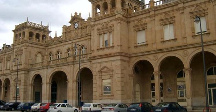Estación de Zamora. (Wikipedia Creative Commons).
