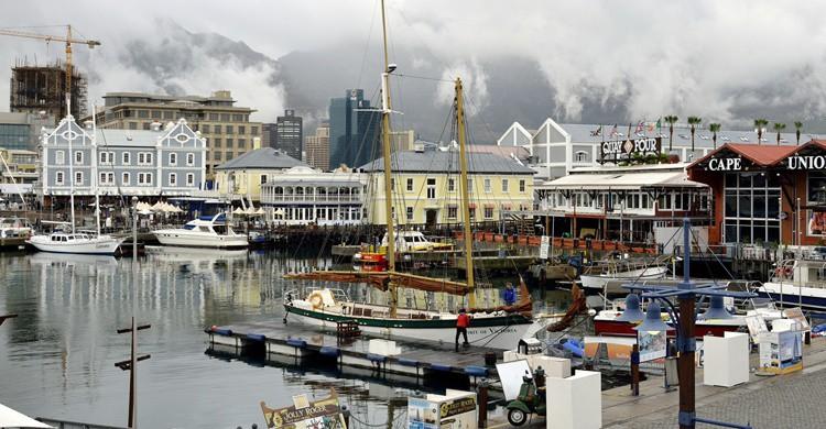 Puerto en Ciudad del Cabo. Eric Bauer (Flickr)