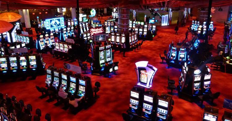 Vista interior de uno de los casinos de Atlantic City. Ingret9 (Flickr)