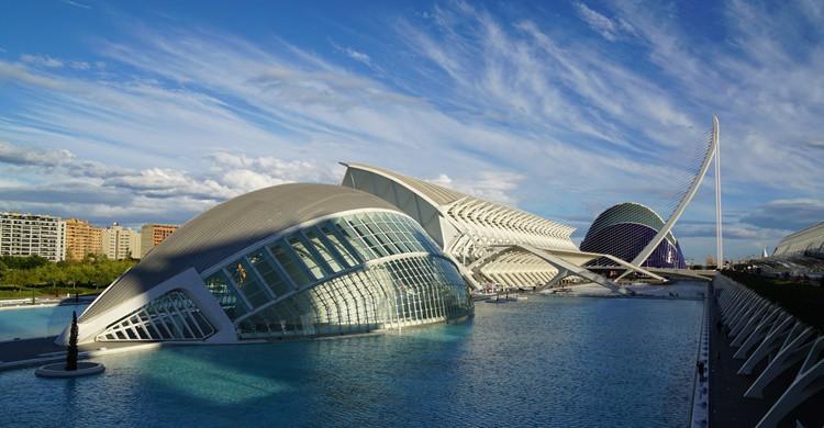 Ciudad de Las Artes y de las Ciencias. Marcus (Flickr)