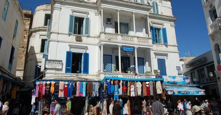 Medina de Túnez. Victor Hermida Prada (Flickr)