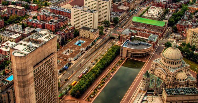 Vista parcial de Boston. Navaneeth KN (Flickr)
