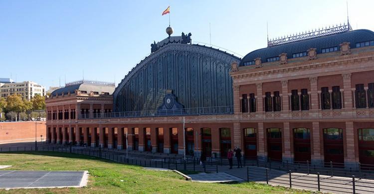 Estación de Atocha. Kostas Limitsios (Flickr)