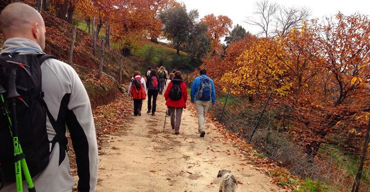 Día de senderismo. Juan Pablo Olmo (Flickr)
