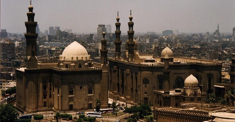 Vista de la mezquita de El Cairo. Ramón (Flickr)