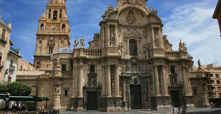 Catedral de Murcia. ian mcwilliams (Flickr)