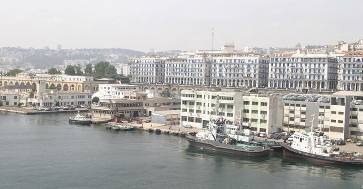 Vista de Argelia desde el puerto. Magharebia (Flickr)