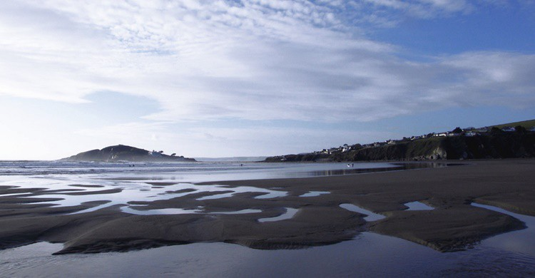 Arenal en Bantham Beach. Mark A Coleman (Flickr)