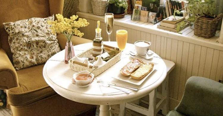 Desayuno (Facebook de Cafe de la Luz)