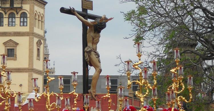 Cristo de la Salud de la Hermandad de San Bernardo (cofrades.sevilla.abc.es)