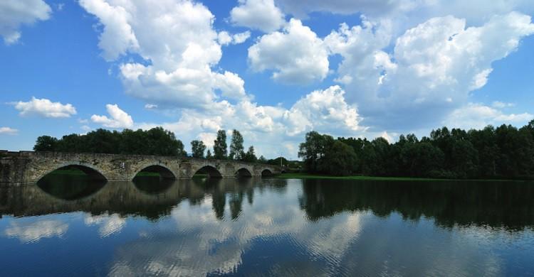 Puente Buriano sobre el Arno junto a Arezzo - Rossella De Amici (Flickr)
