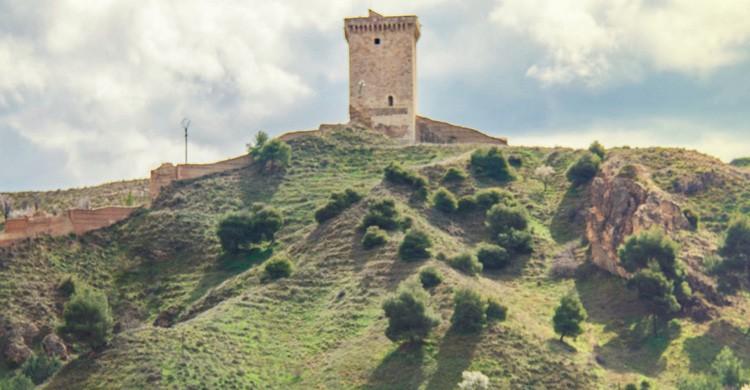 Una colina con vistas en Daroca (Flickr)