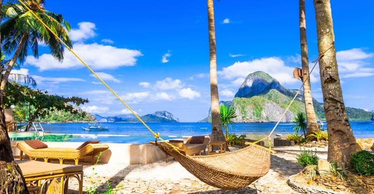 Playa de El Nido, en Filipinas (iStock)