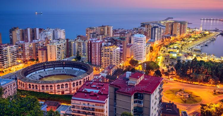 Vista de la ciudad de Málaga (iStock)