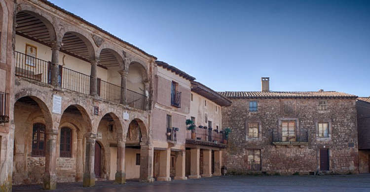 Plaza Mayor de Medinaceli, en Soria. M. Peinado (Flickr)