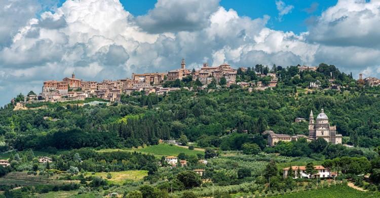 Vista genérica de Montepulciano - Pedro Vilches (Flickr)
