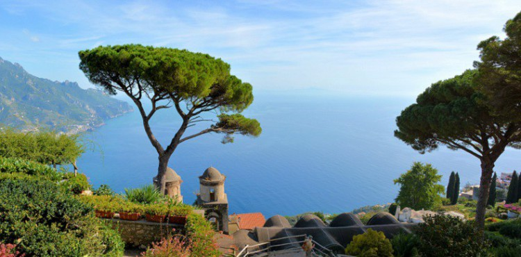 Ravello en la Costa Amafaltina - Risto Ranta (Flickr)