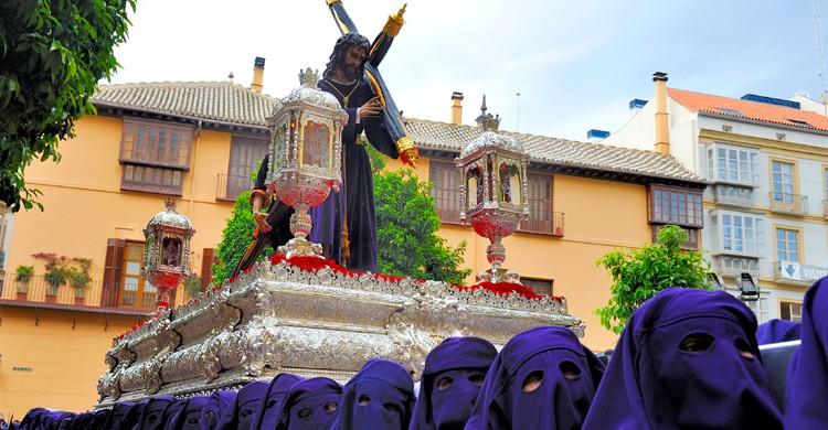 La Semana Santa de Málaga es una de las más importantes de España (iStock)
