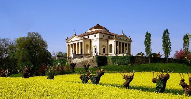 Villa Rotonda, obra de Palladio - a.calanda (Flickr)