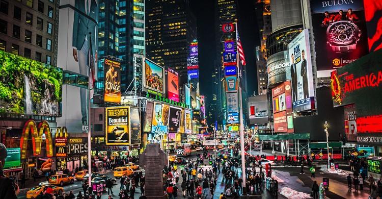 Times Square, en Nueva York. MK Feeney (Flickr)