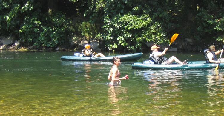 Deporte en el río Sella. (Samu -Flickr)