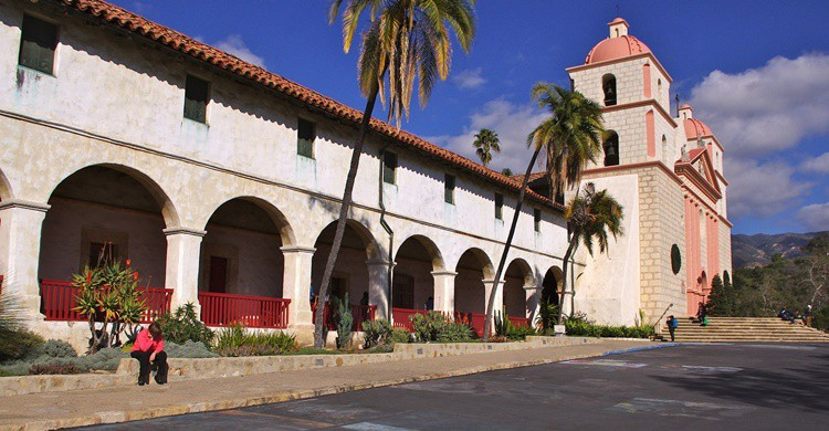 The Old Mission, en Santa Bárbara. David Merrett (Flickr)