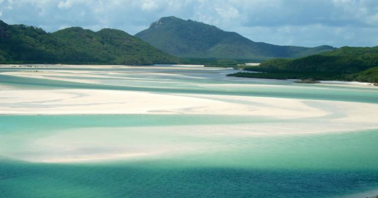 La playa virgen de Whitehaven Beach. IG inK (Flickr)