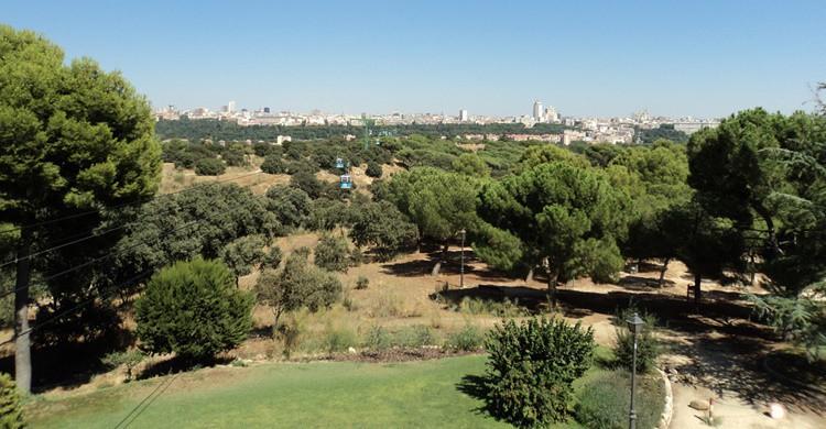 Vista parcial de la Casa de Campo. Sérgio Santos (Flickr)
