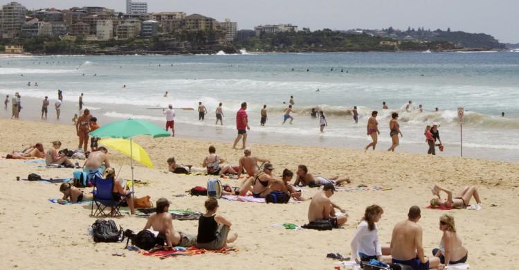 La animada playa de Manly, en Sidney. Matt Morton-Allen (Flickr)