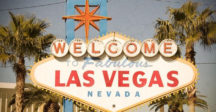 Mítico luminoso de entrada a Las Vegas. ADTeasdale (Flickr)