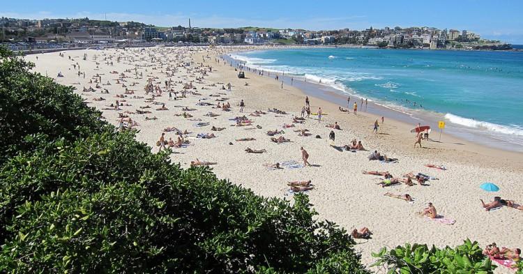 Playa de Bondi, en Sidney. Andym5855 (Flickr)