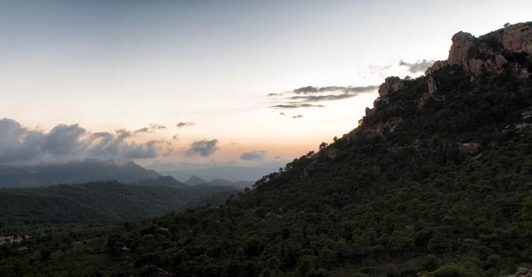 Vista panorámica de Xorret de Catí, en Alicante. Jesús Alenda (Flickr).