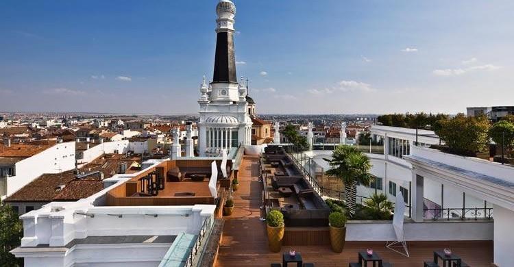 Terraza en el Hotel ME de Madrid. (http://media.melia.com)