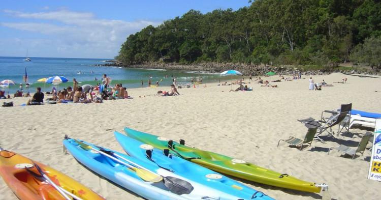 Playa principal de Nosa. Andrew Roberts (Flickr)