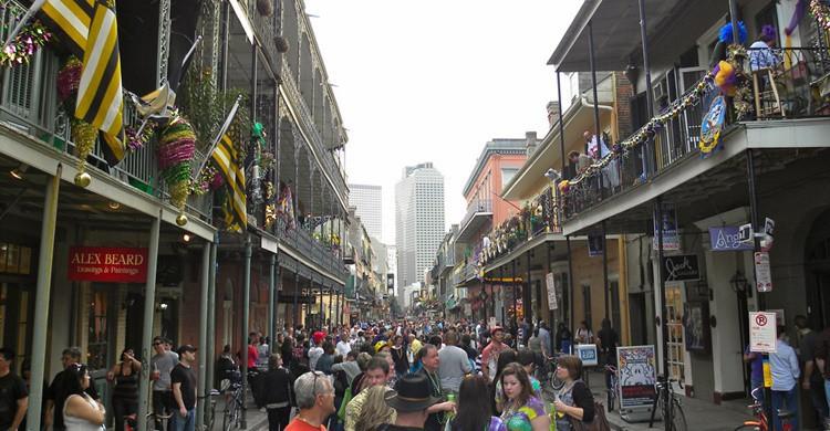 Royal Street, en Nueva Orleans. JasonParis (Flickr)
