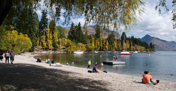 Vista del Lago Moke, en Nueva Zelanda. Jocelyn Kinghorn (Flickr)