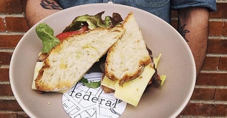 Sandwich (Facebook de Federal Café)